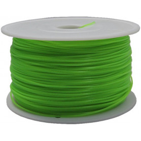 Fillamentum MKF-ABS F3.0 zelená, Tisková struna ABS 3,0 mm 1Kg