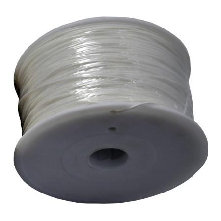 MKF Filament MKF-ABS F3.0 bílá, Tisková struna ABS 3,0 mm 1 Kg pro 3D tiskárnu