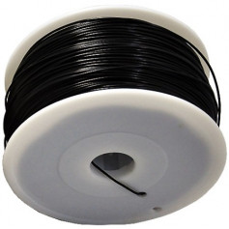 MKF Filament MKF-ABS F3.0 černá, Tisková struna ABS 3,0 mm 1 Kg pro 3D tiskárnu