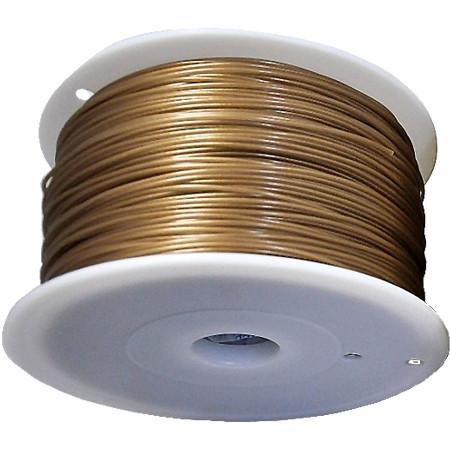 MKF Filament MKF-ABS F3.0 zlatá, Tisková struna ABS 3,0 mm 1 Kg pro 3D tiskárnu