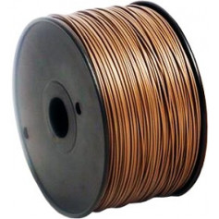 MKF Filament MKF-PLA F3.0 hnědá, Tisková struna PLA 3,0 mm 1 Kg pro 3D tiskárnu