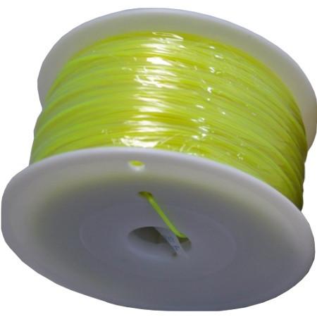 MKF Filament MKF-PLA F3.0 žlutá, Tisková struna PLA 3,0 mm 1 Kg pro 3D tiskárnu