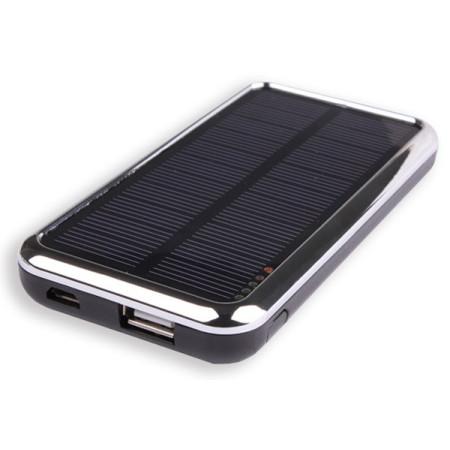 Nabíječka InHouse MKF-Solar 3500  Black s USB výstupem 5V/1A