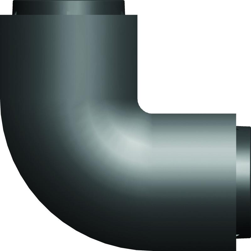 Kryt kabelů InHouse MKF-CC03B černá k držáku na TV, rohový