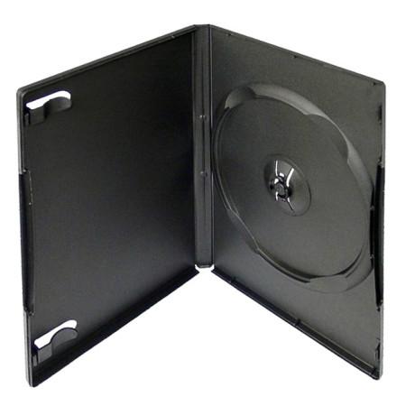 Krabička na 1ks DVD černá InHouse DVD-1B, tloušťka 14 mm