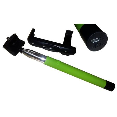 InHouse držák na mobilní telefon MKF-Monopod 1 Bluetooth zelený, MONOPOD-TELESKOPICKÝ DRŽÁK