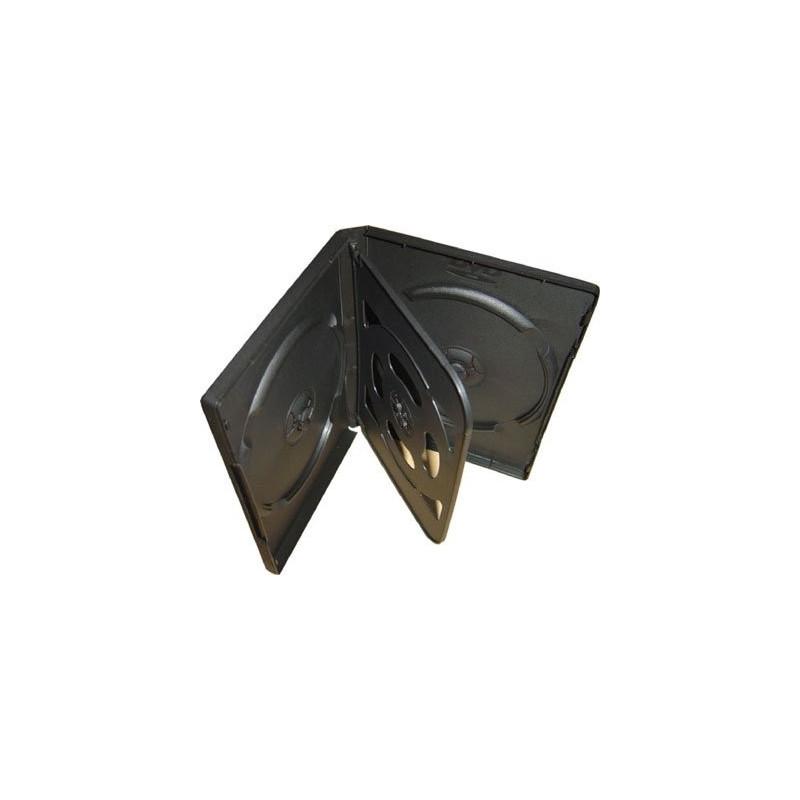 InHouse DVD-4B Krabička na 4ks DVD černá