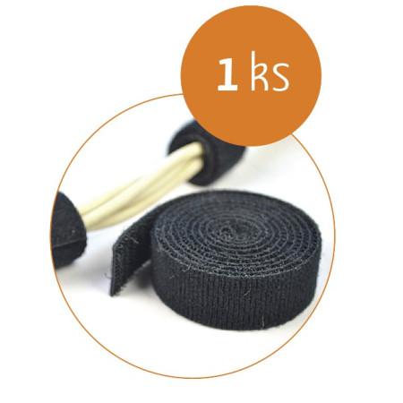 Organizace kabelů MKF-SK21 Black, Suchý zip 1,2 m