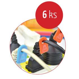 Organizace kabelů MKF-ZK40 Color Mix, Značkovač kabeláže