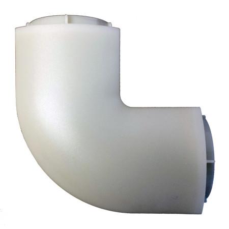 Kryt kabelů InHouse MKF-CC03T transparent k držáku na TV, rohový