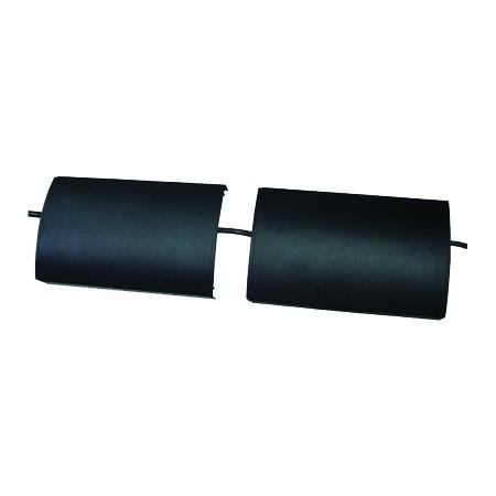 Kryt kabelů InHouse MKF-CC02T transparent k držáku na TV, délka 17,5 cm