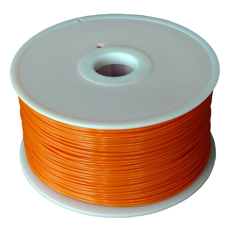 MKF Filament MKF-PLA F1.75 tmavě oranžová, Tisková struna PLA 1,75 mm 1 Kg pro 3D tiskárnu