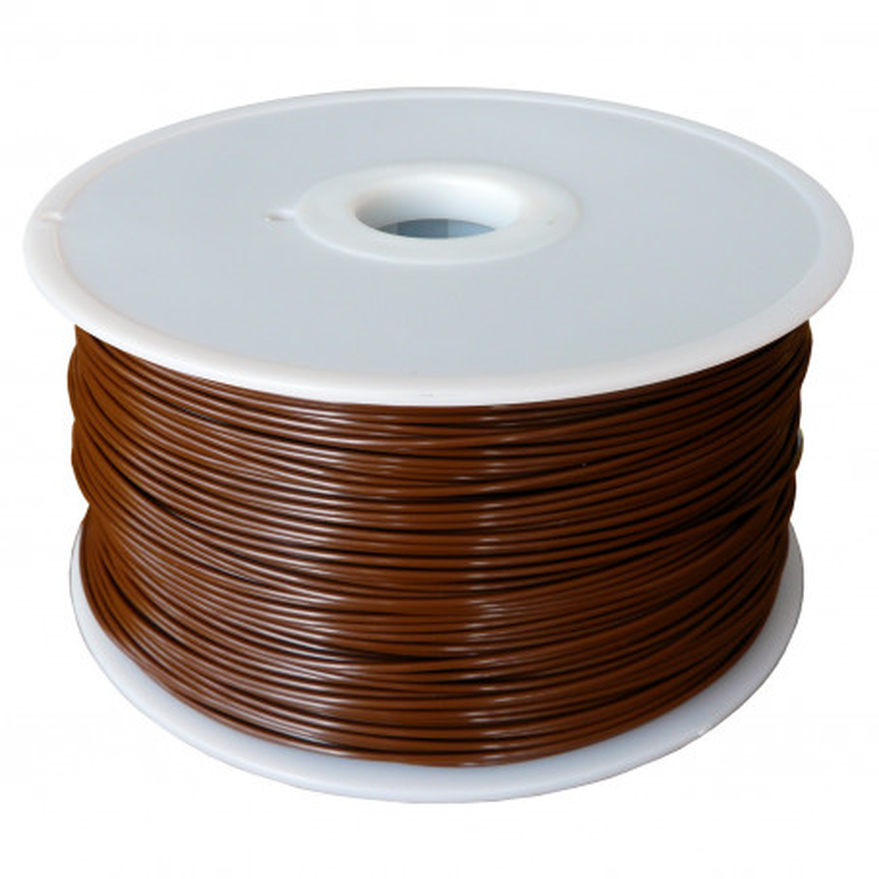 MKF Filament MKF-PLA F1.75 kávová, Tisková struna PLA 1,75 mm 1 Kg pro 3D tiskárnu