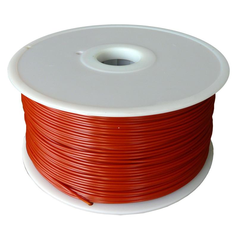 MKF Filament MKF-PLA F1.75 tmavě červená, Tisková struna PLA 1,75 mm 1 Kg pro 3D tiskárnu