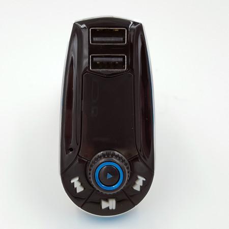 InHouse MKF-FM10, FM Transmitter do auta pro poslech mp3 s USB nabíječkou 5V/2,1A