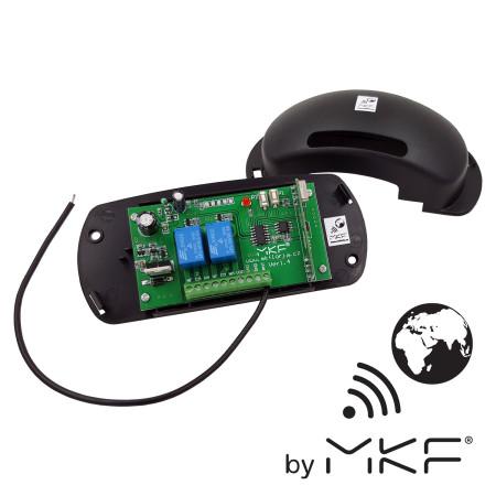 MKF-GATE/REC02i 433, externí RF přijímač NICE kompatibilní, pro ovladače NICE s frekvencí 433,92 MHz