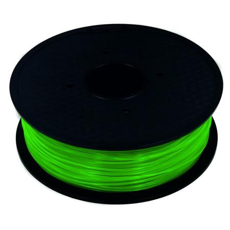 MKF Filament MKF-PETG F1.75 transparent zelená, Tisková struna PETG 1,75 mm 1 Kg pro 3D tiskárnu
