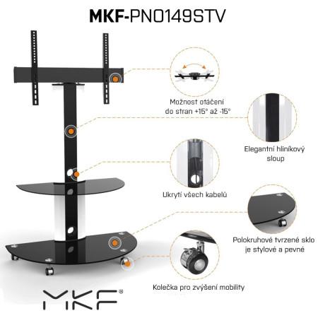 MKF-PNO149STV Televizní stolek pro LCD a LED TV
