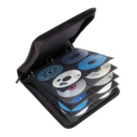 InHouse MKF-ACD344AB  pouzdro na 344ks  CD/DVD, Nylon, černé