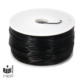 MKF Filament MKF-HIPS F3.0 černá, Tisková struna HIPS 3,00 mm 1 Kg pro 3D tiskárnu