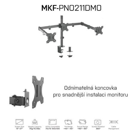 MKF-PNO211DMO Držák na monitory
