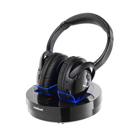 Meliconi HP300 PROFESSIONAL Stereo HiFi Bezdrátová sluchátka