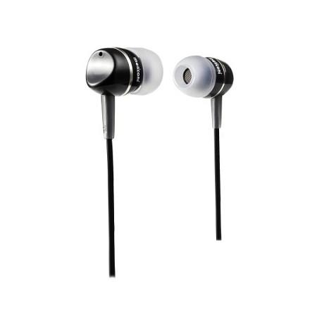 Meliconi EP200 Black Stereo sluchátka provední špunty s kabelem a konektorem Jack 3,5mm