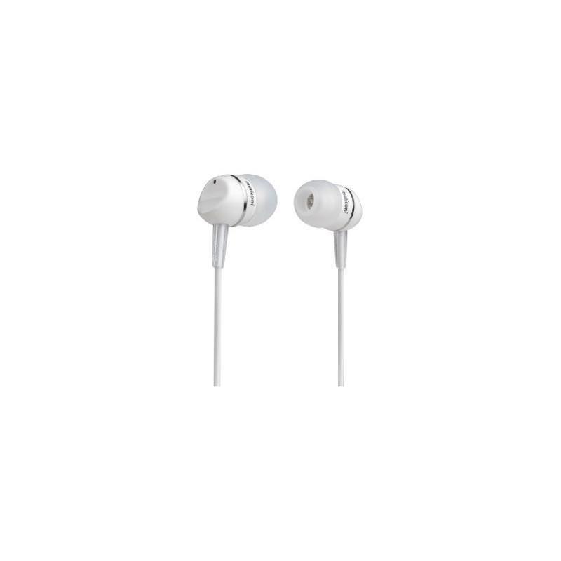 Meliconi EP200 White Stereo sluchátka provední špunty s kabelem a konektorem Jack 3,5mm