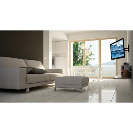 Meliconi Stile R100 černá - Náklápěcí a otočný držák na TV pro plazmové a LCD TV