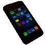 screen glass - tvrzené sklo - rozbitý mobil
