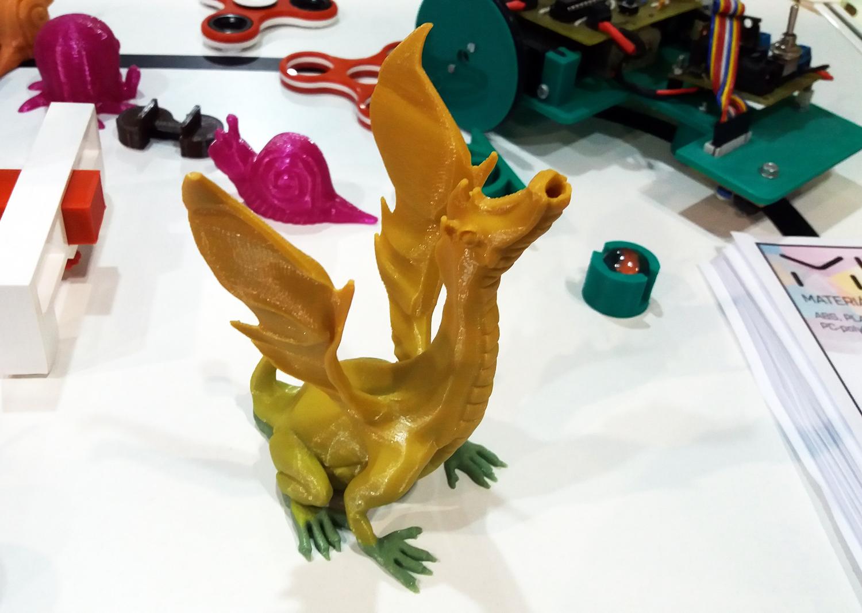 3D tisk drak