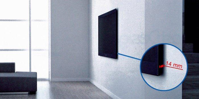 TV na zdi jako obraz